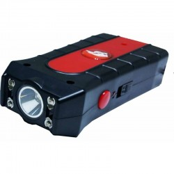 BLACK DUO MAX POWER STUN GUN WITH DOUBLE SHOCK