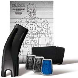 Gold Kit-Black C2, 4 Live Cartriges, 1 Training Cartridge, 1 Holster, 1 Target